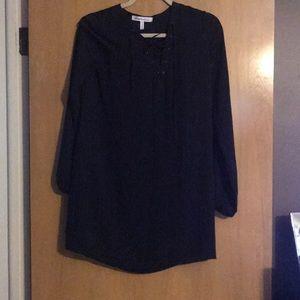 BCBG LACE UP DRESS